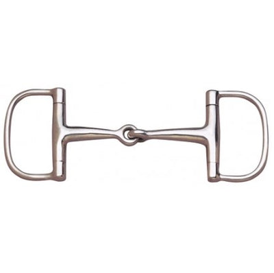 Centaur Barrel Dee Ring Snaffle 3.5''
