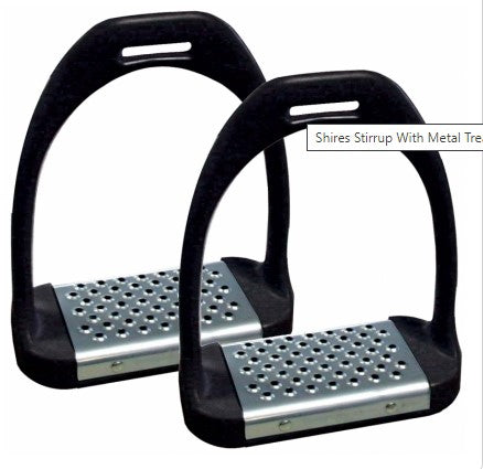 Shires Stirrup With Metal Tread