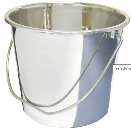 SS BUCKET PAIL 15.2Litres BSTS-HMF-1105