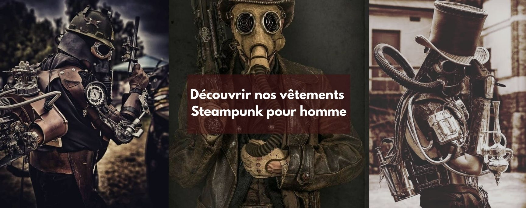 look steampunk homme