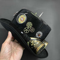 Chapeau Steampunk Customisé