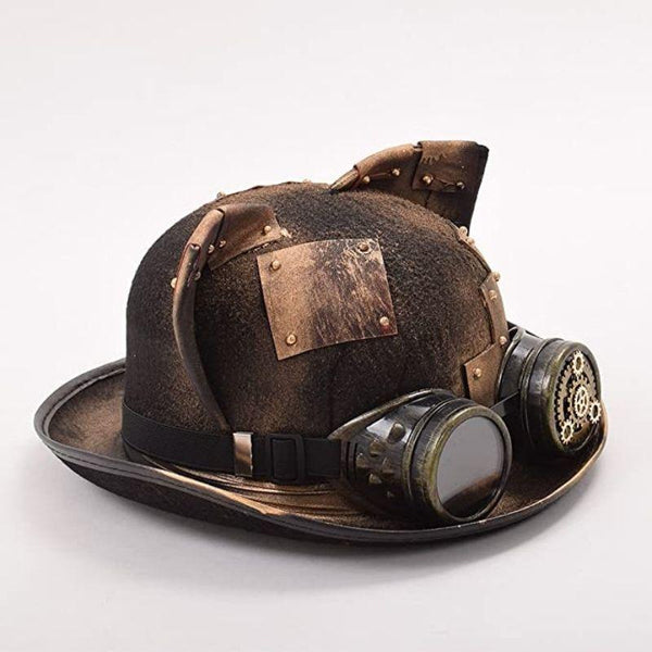 chapeau oreille de chat steampunk
