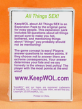 All Things SEX! - Expansion Pack