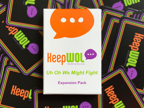 Uh Oh We Might Fight - Expansion Pack