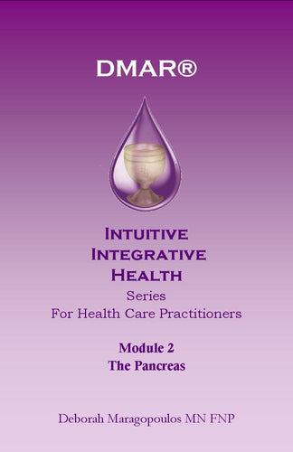 Cover of Deborah Maragopoulos' Online Course for nurse practitioners about the sacral chakra or pancreas