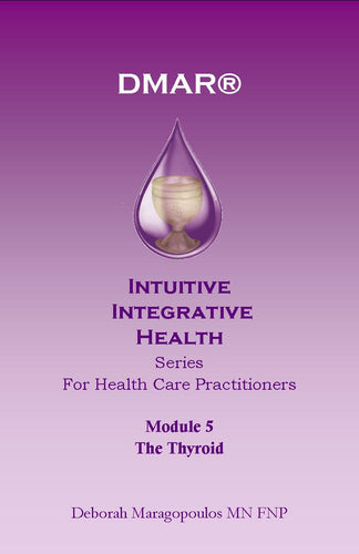 Cover of Deborah Maragopoulos' Online Course for nurse practitioners about the throat chakra or thyroid