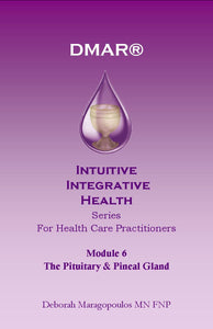 Cover of Deborah Maragopoulos' Online Course for nurse practitioners about the third eye chakra, pineal gland and pituitary gland