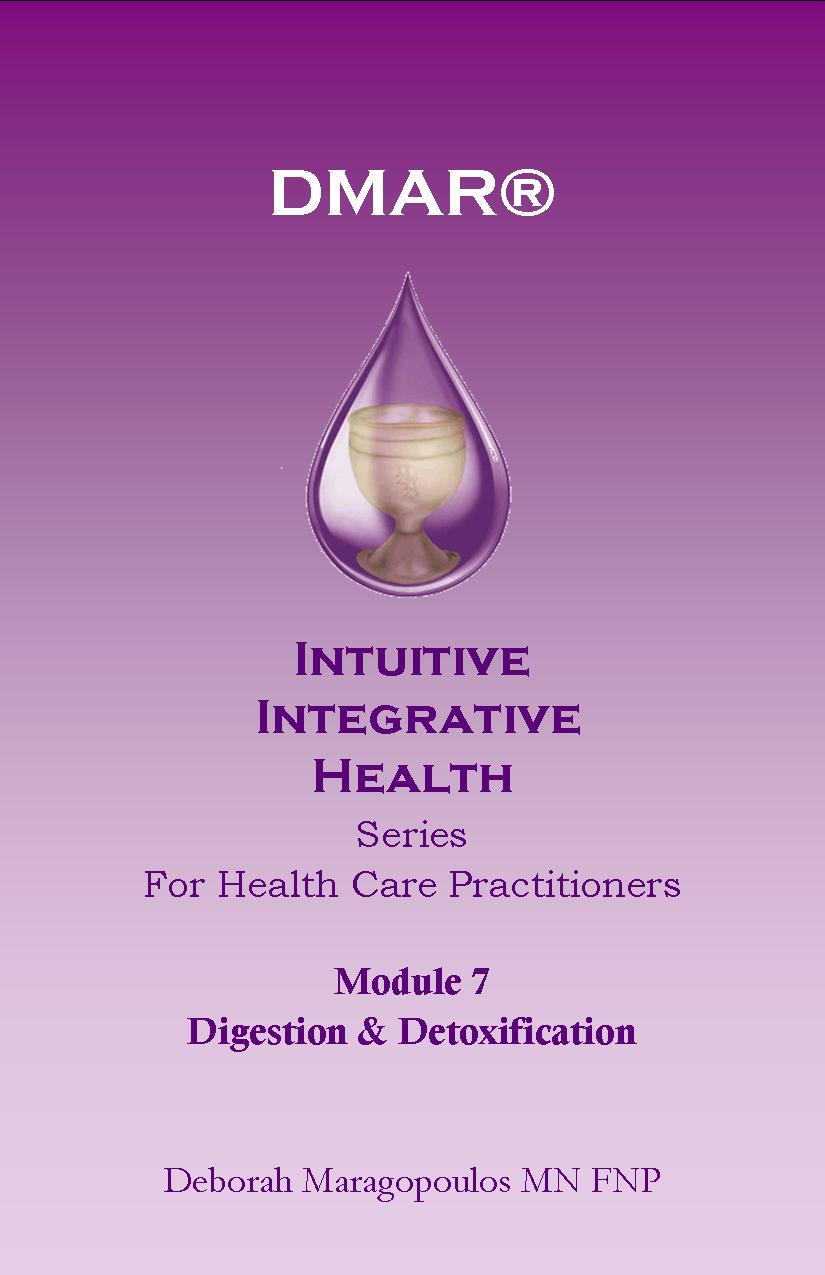 Cover of Deborah Maragopoulos' Online Course for nurse practitioners about the crown chakra or digestion and detoxification