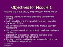 Load image into Gallery viewer, Nurse Practitioner Objectives for Module 1 learning about the neuro-immune-endocrine connection to the gonads