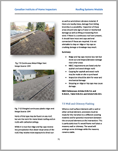 Roofing Training Module Sample
