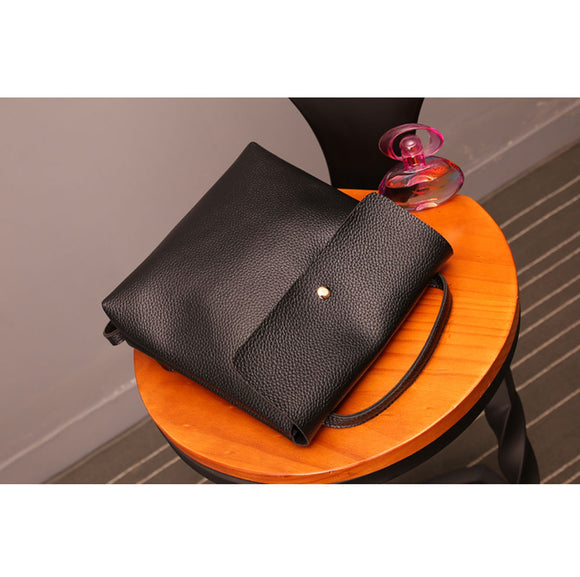 Leather messenger shoulder travel bag Women - zavitoro.myshopify.com