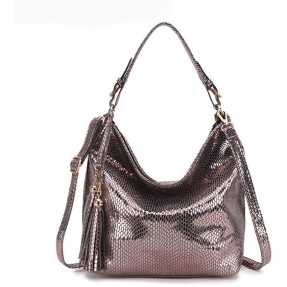 Women's Party handbag made of real HIDE leather high quality - zavitoro.myshopify.com