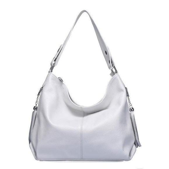 Hobo bag bolsa feminina in genuine cowhide leather for Ladies Women Girls - zavitoro.myshopify.com