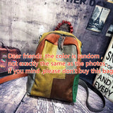 Premium quality Backpack Patchwork Cowhide genuine Leather Man Casual Vintage Genuine Leather Knapsack Female School Retro Packsack Bookbag - zavitoro