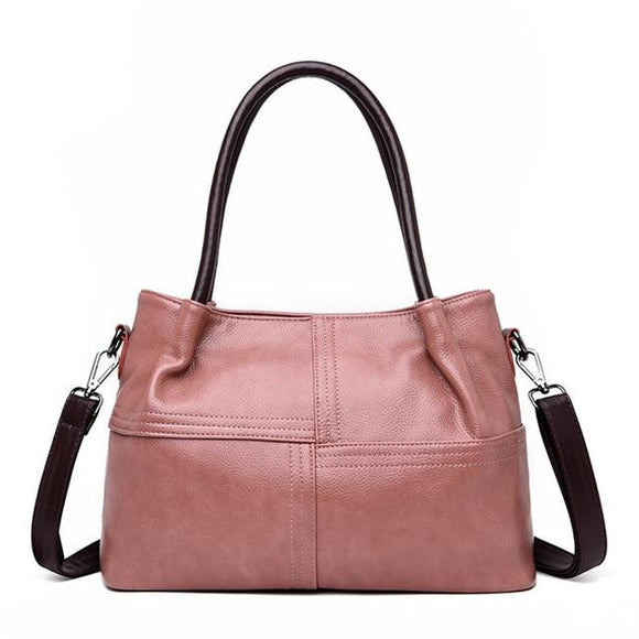 Satchel Handbag for women mini Tote bag Casual Big Shoulder Messenger Female Vintage Top-handle Fashion 2019 Luxury Women Bags Designer - zavitoro.myshopify.com