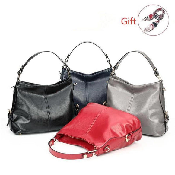 Hobo bag Women Handbags Shoulder Crossbody Bag Female Casual Large Totes High Quality Sheepskin Ladies Hobo Messenger Bag Gifts - zavitoro.myshopify.com
