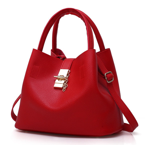 Genuine leather high quality Hobo bag satchel 2019 Vintage Women's Handbags Famous Fashion Brand Candy Shoulder Bags Ladies Totes Simple Trapeze Women Messenger Bag - zavitoro.myshopify.com
