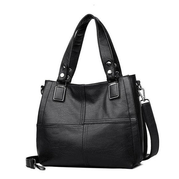 Mini Tote bag Hobo handbag 100% Genuine Leather Women Female Big large capacity Shoulder Bag Ladies Luxury Handbags Women Bags Designer - zavitoro