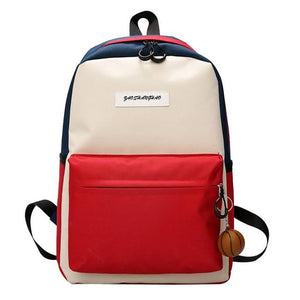Backpack Summer fashion Women Candy Color Student school travel bag Teenager Girls Female - zavitoro