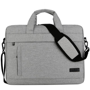 Business Laptop Bag made of Canvas for business professionals universal Travel Portable Briefcase Tote Shoulder Bag 3 Size - zavitoro