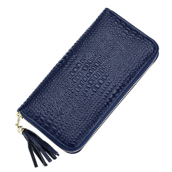 Women Long Wallets Crocodile design higg grade Brand Design premium Quality Leather Wallet Female Hasp Fashion Dollar Price Alligator Long Women Wallets And Purses - zavitoro.myshopify.com