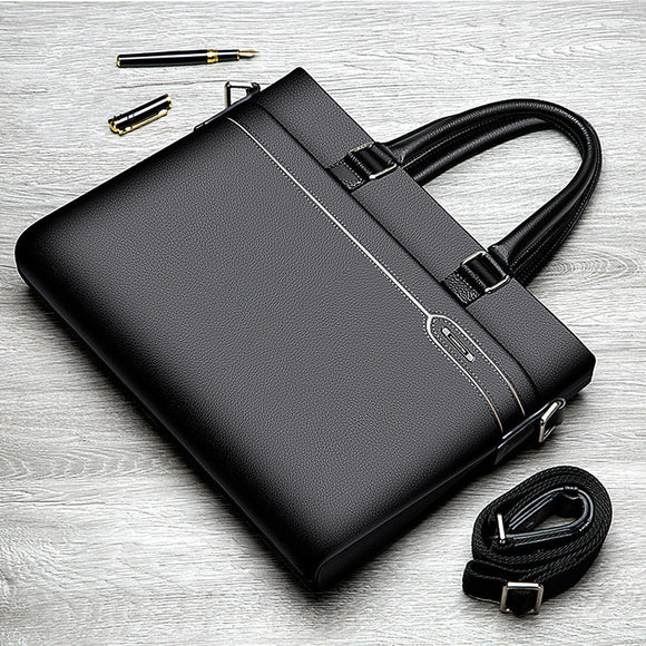 High Quality Men's Genuine Leather Business Laptop Macbook Air 13 Case