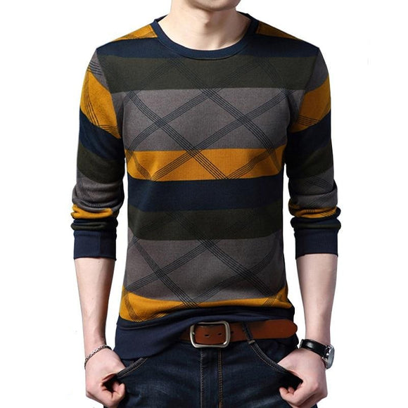 Pullovers Slim Long Sleeve Cotton Warm Fashion - zavitoro