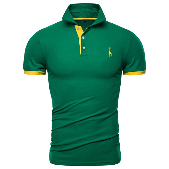 Premium quality Border Color Male Cotton Polo - zavitoro