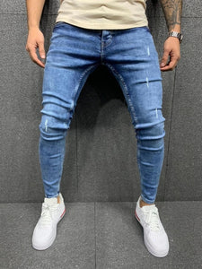 Ripped Vintage Patch Casual jeans - zavitoro