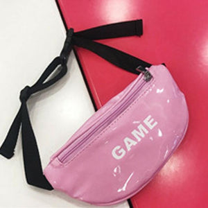 Waist bag for Baby child girl pockets cute bright outdoor sports pockets belt bag - zavitoro