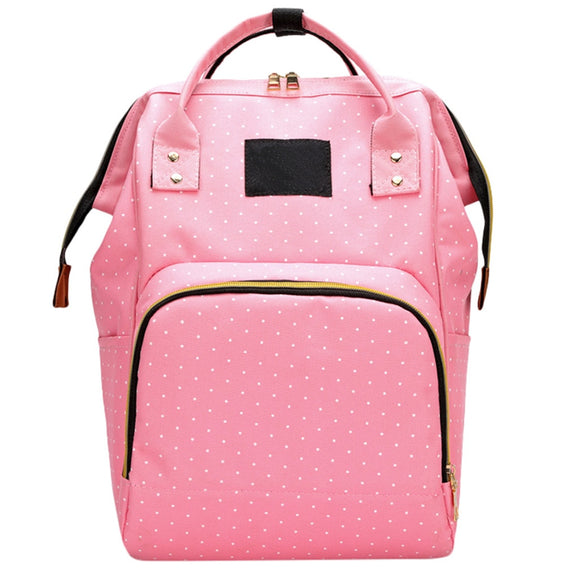 Mummy Backpack Bag Women Simple soft Oxford high Capacity Travel Backpack Mummy Bag Bottle Nursing Bag Backpack wholesale MAY7 - zavitoro