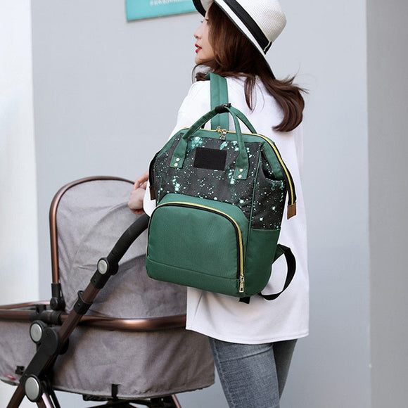 Mummy Backpacks infant kids baby food Oxford Backpacks for Mom Large Capacity Maternity Nappy Bag Travel Shoulder Bags - zavitoro.myshopify.com