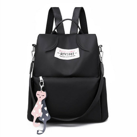 Anti-theft female girls backpack Oxford cloth fashion large capacity travel backpack multi-function laptop school bag - zavitoro