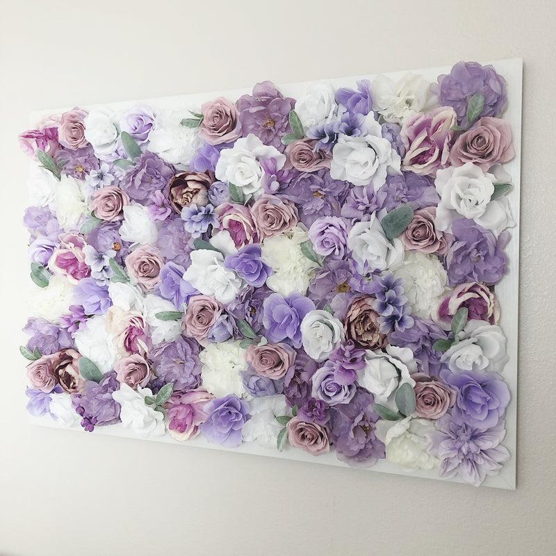 lavender nursery decor lavender wall art decor lavender decor floral wall hanging flower wall girl nursery decor girl