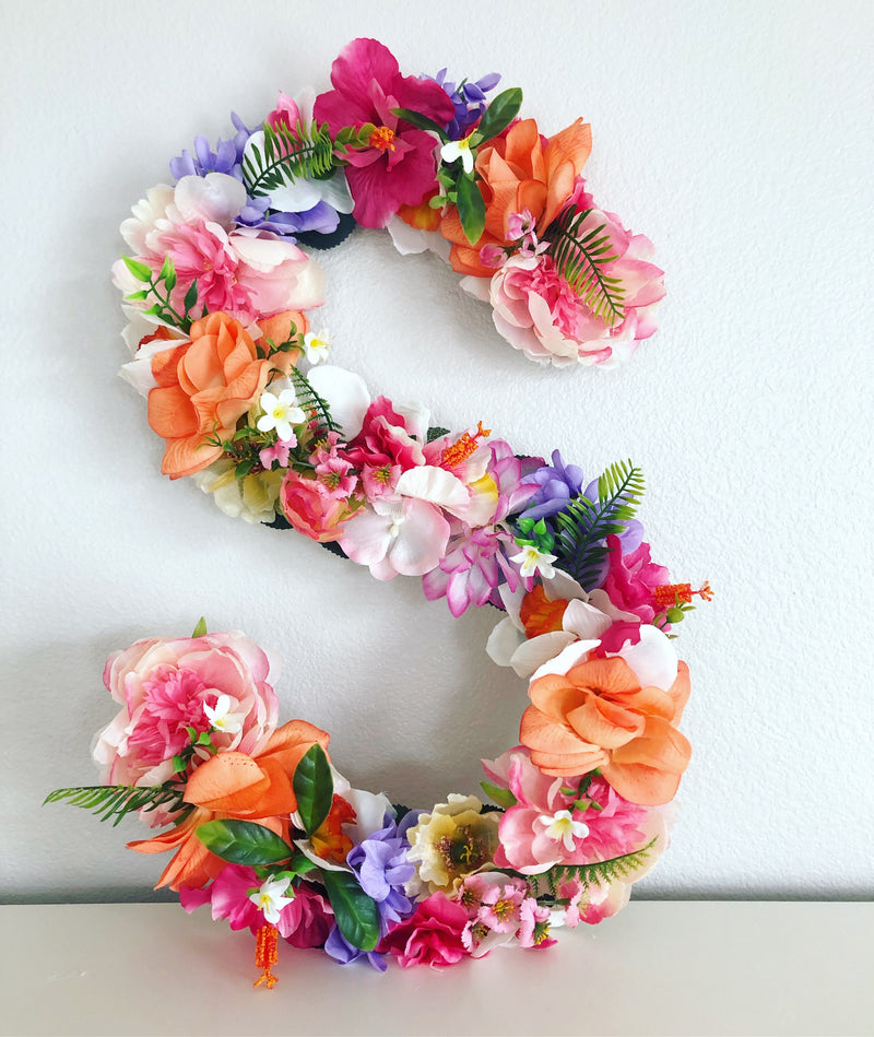 tropical birthday decor tropical party decor tropical theme party Hawaiian party decor Hawaiian theme decor Hawaiian floral decor birthday girl decor