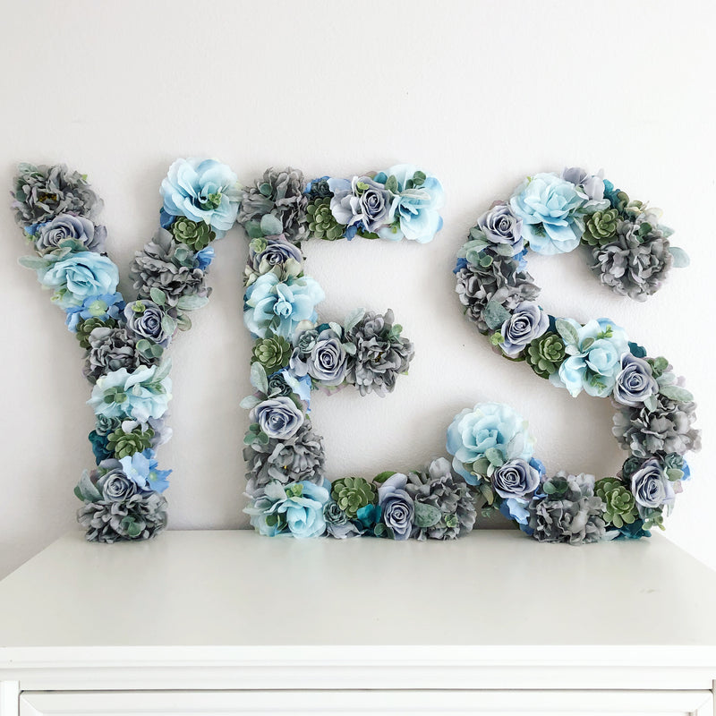 yes to the dress sign I said yes sign engagement photo prop engagement prop proposal ideas wedding sign floral letter