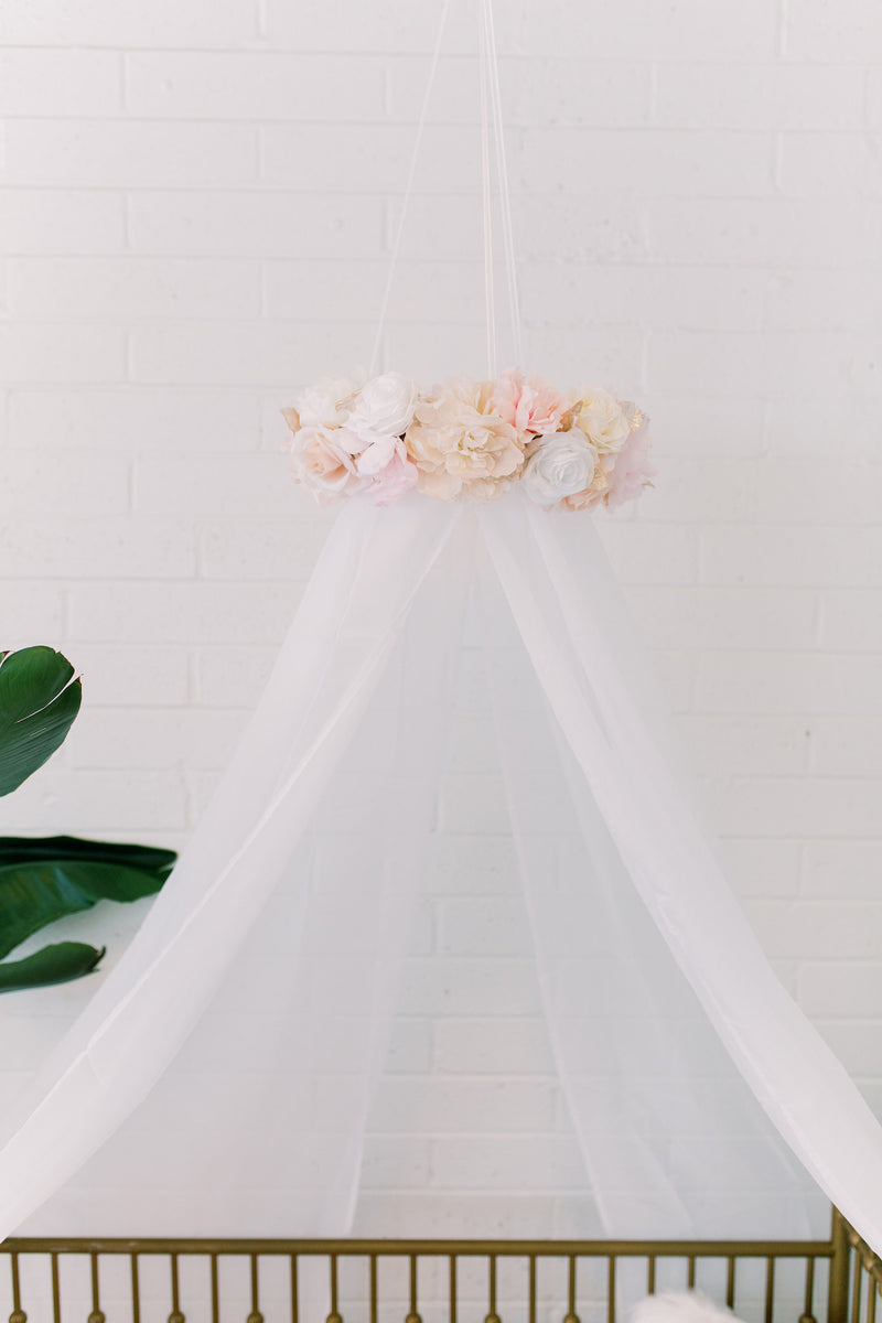 floral canopy mobile flower canopy mobile flower mobile