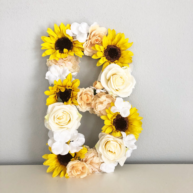 sunflower party theme sunflower birthday sunflower room decor sunflower decor flower letter