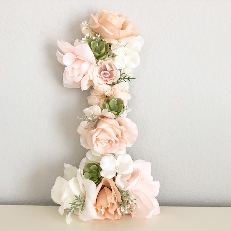 1st birthday decor shabby chic birthday boho birthday glam birthday decor floral number