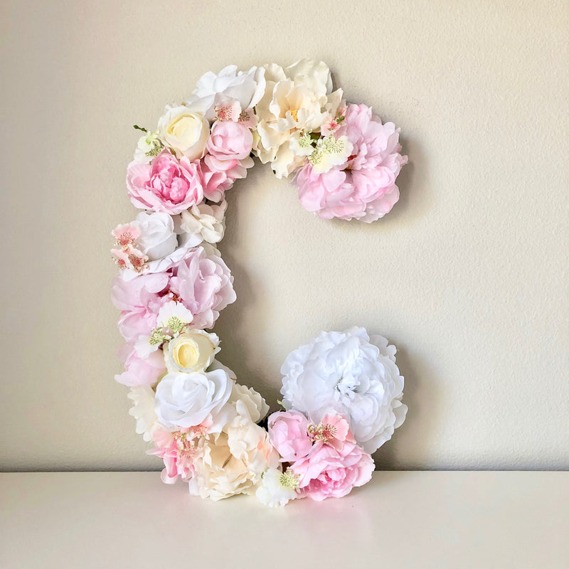 blush nursery decor baby name art baby name sign nursery wall decor