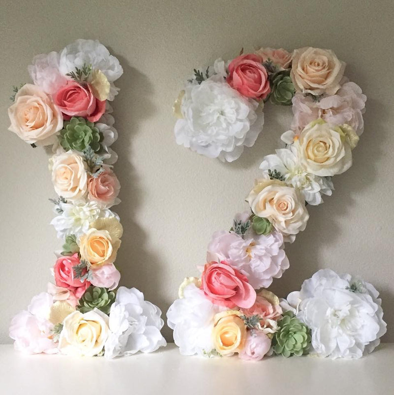12th birthday decor teen birthday boho birthday number