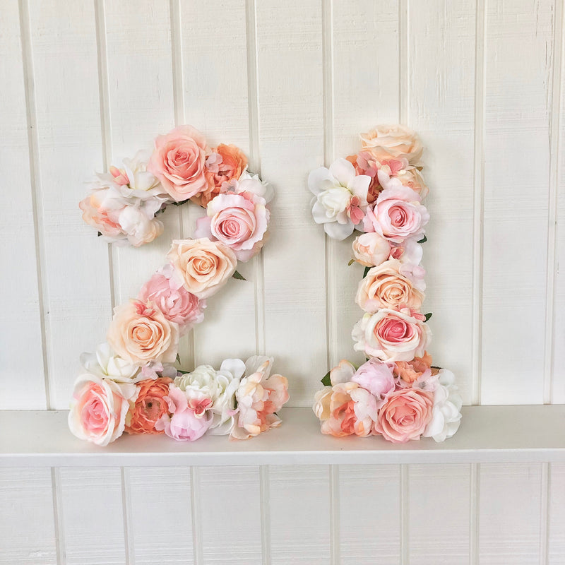21st birthday party 21st birthday number decor