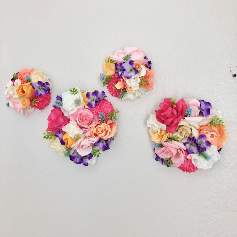 flower wall decor floral nursery decor floral girl decor