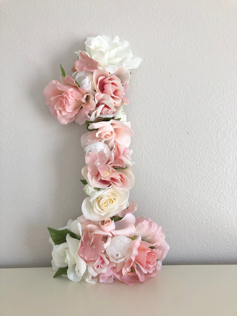 floral birthday party decor