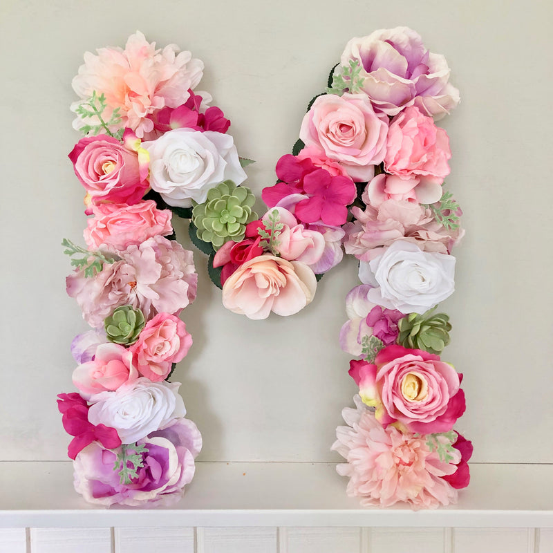 girl birthday decor birthday girl decor birthday banner birthday sign letters floral letter flower letter