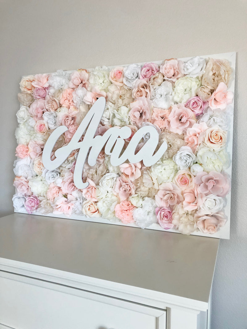 baby shower decor blush baby shower girl baby shower girl decor birthday name sign blush birthday decor blush nursery