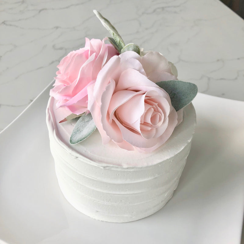 floral birthday decor floral cake topper