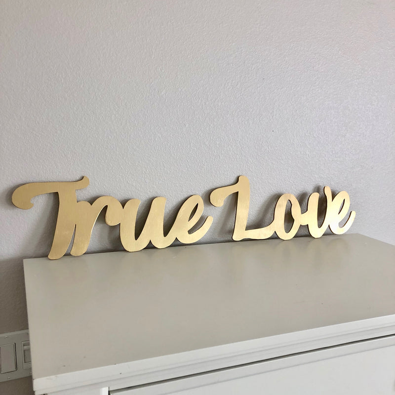 custom sign gold sign name sign