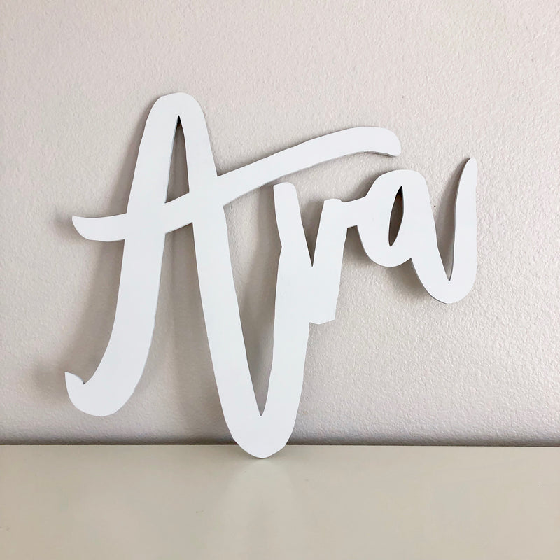 custom sign nursery sign baby name sign