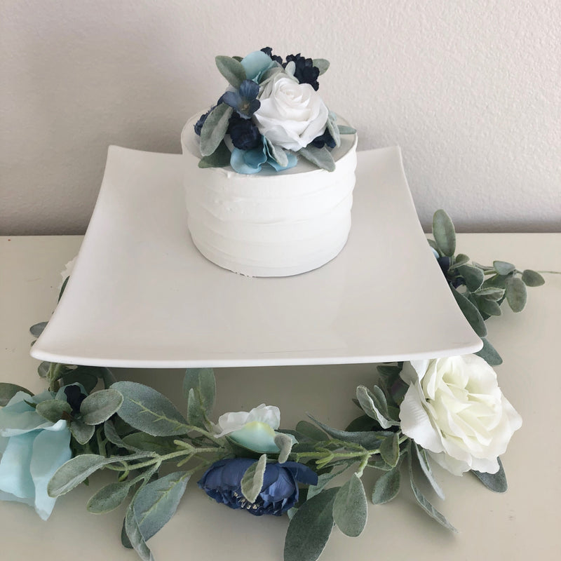 floral cake topper birthday cake topper wedding cake topper